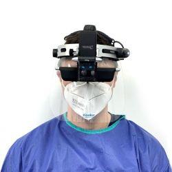 Binocular Indirect Face Shield