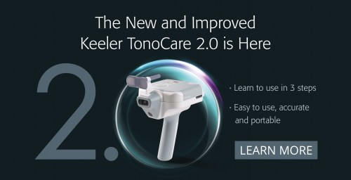 Tonocare - Advanced hand-held Wireless Tonometer