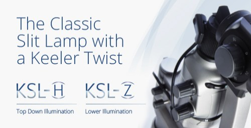 The Classic Slit Lamp with a Keeler Twist