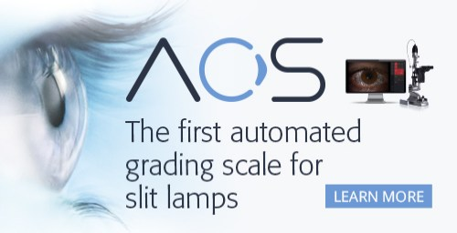 AOS - The first automated grading scale for slit lamps